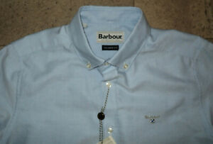 BARBOUR TAILORED SHIRT LIGHT BLUE SIZE SMALL LONG SLEEVED BNWT