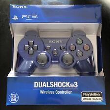 Sony Dualshock 3 Blue Gamepad for PS3 PlayStation 3 Wireless Controller