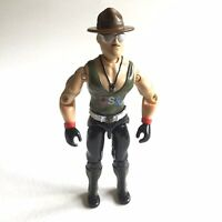 "GI JOE Vintage 3.75"" arah SGT SLAUGHTER V1 1985 Mail Away WWE"