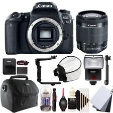 Canon EOS 77D fotocamera DSLR con 18-55mm - S EF IS STM lente e kit di accessori