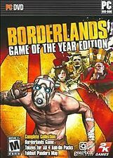 Borderlands - Game of the Year Edition INCLUDES 4 DLC (PC STEAM KEY)