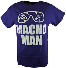 734210a616f Macho Man Randy Savage Purple Sunglasses T-shirt