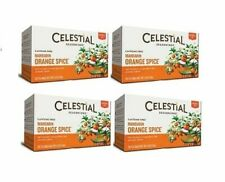 Celestial Seasonings Mandarin Orange Spice Tea 4 Box Pack