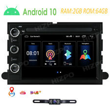 For 2004-2008 Ford F150 F250 Car MirrorLink GPS Android 10 Stereo Radio+Camera