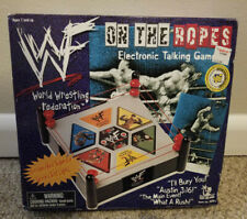New WWF On the Ropes Electronic Talking Board Game Wrestling WWE WCW NIP