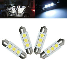 4pcs Car Lights Kit Set 36mm Festoon SMD C5W 6418 CANBUS Error Free Interior