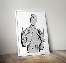 2Pac, Tupac, poster, print, gifts, wall art, home decor