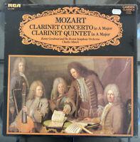 CCV 5006 MOZART CLARINET CONCERTO & CLARINET QUINTET / GOODMAN * MUNCH NM UK LP