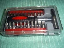 24 PIECES MINI SCREWDRIVER  AND  BITS SET