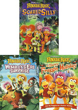 Fraggle Rock Scared silly Wembley's Egg Surprise A Merry Holiday DVD Set Series