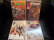 SPAWN #'s 6,7,10,11 NM McFarlane Image comics 1992 lot set run