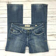 Mek Eugene Straight Jeans Size 31 Womens Distressed Denim Medium Wash