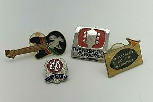 Lot of Vintage Music Pins