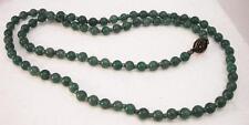 Collana in Giada Avventurina verde chiaro 70cm OMA19