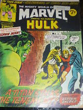 Mighty World of MARVEL Starring the INCREDIBLE HULK - No 93 - Date 13/07/1974