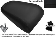 BLACK STITCH CUSTOM FITS YAMAHA MT 03 06-13 REAR LEATHER SEAT COVER