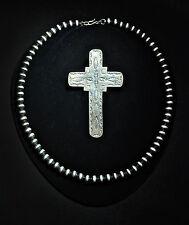 Vintage Sterling Antique Silver Cross Necklace