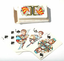 Russian 36 Playing Cards Deck Traditional Figures USSR Soviet Union  Box
