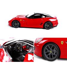 Bburago 1:24 Red Ferrari 599GTO Sports Alloy Collection Car Model Toys Gift Box