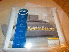 Nestl Bedding Duvet Cover Set New In Package Micro Fiber Size King