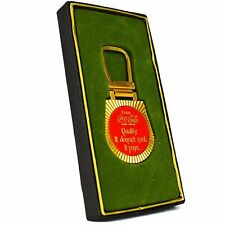 Coca Cola Key Chain Fob Medal Quality Doesn't Cost Seminar Vintage USA Hit