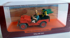 VOITURE COLLECTION TINTIN - PAYS DE L'OR NOIR, WILLYS MB 1943 / MOULINSART, NEUF