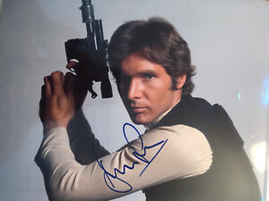Harrison Ford Star Wars Han Solo Signed 8x10 Photo