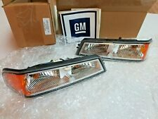 OEM GM SET turn signal park light lamps 2004 - 2012 Chevy GMC Colorado Canyon