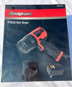 Snap-on PT850 Hair Dryer with Adjustable Heat and Speed Settings SEALED in box