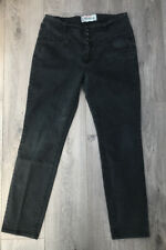 New Look Yes Yes  High Waist Black Stretch Straight Leg Jeans Size 16