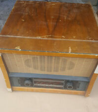 Ecko Radio with Garrard Turntable. Vintage Audio Equipment