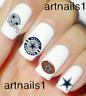 Dallas Cowboys Nails Football Nail Art Water Decal Sticker Manicure Salon Polish