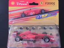 Ferrari F2005 Modelauto rot, Maßstab 1:38 Shell NEU & OVP