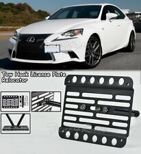 For 14-up Lexus IS250 350 Front Tow Hook License Plate Relocated Bracket NO PDC