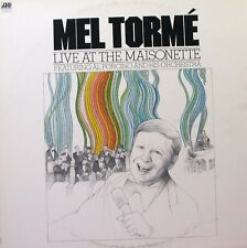 MEL TORME Live At The Maisonette LP