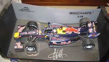 Mark Webber  hand signed Model F1 Red Bull car (1:scale)