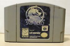 Tested Working Mortal Kombat Mythologies Sub-Zero Nintendo 64 1997 N64 Authentic