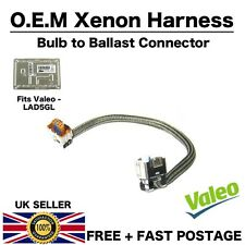 VALEO Xenon Ballast Velarc Cable LAD5GL 4 PIN Headlight Control Unit Harness