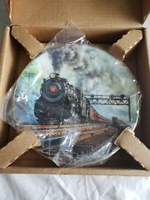 1991 Hamilton Collector Plate Golden Age of Railroad The Pennsylvania K-4 1890A