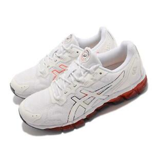 Asics GEL-Quantum 360 6 White Red Women Running Casual Shoes 1202A254-960