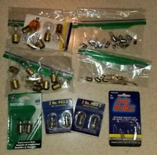 New listing Lot of misc Tested Ac & Dc low voltage indicator light bulbs: Auto, Radio, etc.