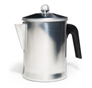 Heavy Duty Stove Top Percolator Yosemite Coffee Pot Maker 9-Cup Aluminum New