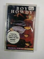 Boy Howdy - Born That Way Vtg Cassette Tape 1995 Curb Records New/Sealed Promo