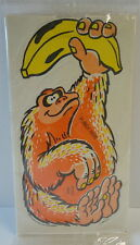 Quaker Cap'n Crunch Bicycle Spoke Wheel Rattler Monkey Cereal Premium MINT 1989