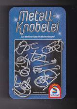 Schmidt Spiele 51206 Metall-Knobelei in schöner Metalldose 12 Tricks+Anleitung