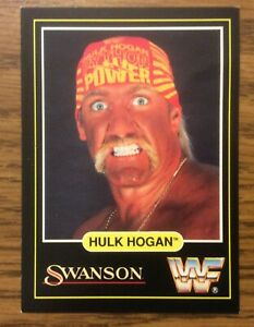 1991 WWF Swanson Hulk Hogan  TitanSports