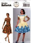 Butterick Sewing Pattern B6484 6484 Dress by Gertie Vintage 14-16-18-20-22