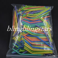 100 Pcs Dental Disposable 3 Way Use Syringe Air Water Nozzles Plastic Tips Plast