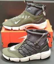 Nike AIR FOOTSCAPE MID utility BLACK/WHITE-CARGO KHAKI-LIGHT BONE 924455-001