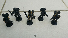 Warhammer 40k Chaos Space Marines Raptors x5 SEE DESCRIPTION